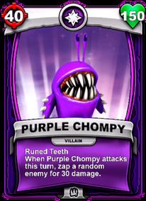 Runed Teethcard
