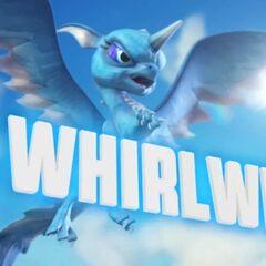 Whirlwind S2 en su trailer en Giants