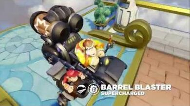 Meet the Skylanders SuperCharger Vehicles Barrel Blaster
