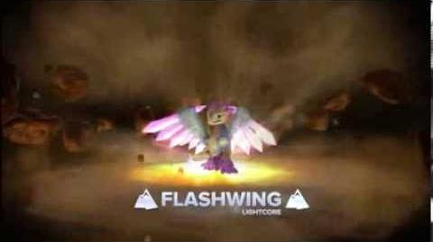 Skylanders Swap Force - Meet the Skylanders - Lightcore Flashwing