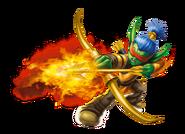 Flameslinger Transparent Render