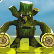 Skylanders stump smash life element