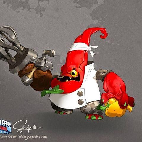 Concepto final de Chef Pepper Jack