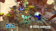 Meet the Skylanders Legendary Grim Creeper LightCore
