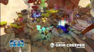 Meet the Skylanders Legendary Grim Creeper LightCore