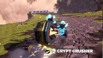 OFFICIAL Skylanders SuperChargers Action Clips Crypt Crusher