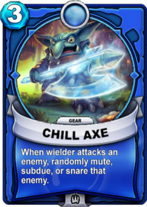 Chill Axe - Engranecard