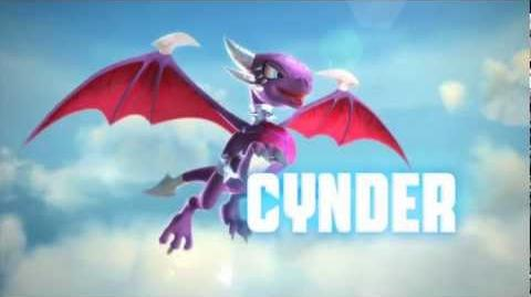 Skylanders Giants - Meet the Skylanders - Series 2 Cynder (Volts and Lightning)-1