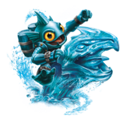 Tidal Wave Gill Grunt Transparent Render