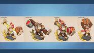 Donkey Kong concepts