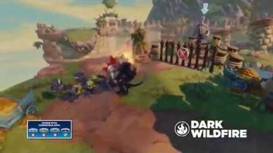 Meet the Skylanders Dark Wildfire