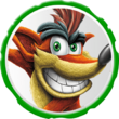 Icono de Crash Bandicoot