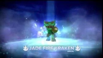Meet the Skylanders Jade Fire Kraken