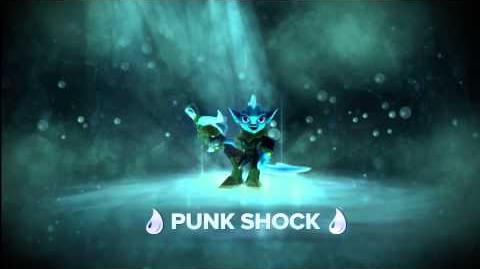 "Meet The Skylanders - Punk Shock ""Amp It Up!"" Official Trailer"