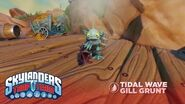 Meet the Skylanders Tidal Wave Gill Grunt l Skylanders Trap Team l Skylanders