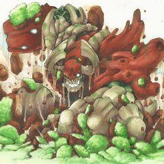 Gigantesco fan art de Tree rex