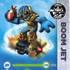 Carta de Boom Jet