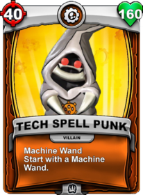 Machine Wand - Special Ability (Gear)card