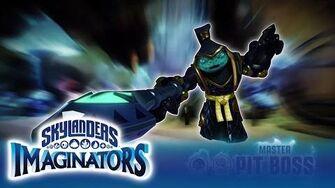 Official Skylanders Imaginators Meet Master Pit Boss