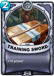 Training Sword - Gearcard