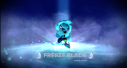 Freeze Blade Magic Moment!