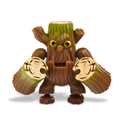 Figura de Stump Smash de Mega Blocks.