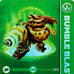 Carta de Lightcore Bumble Blast
