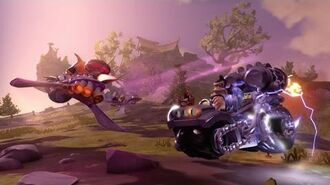 OFFICIAL Skylanders SuperChargers Action Clips Dark Barrel Blaster