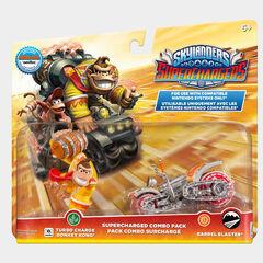Paquete combo supercargado con Turbo Charge Donkey Kong y el Barrel Blaster