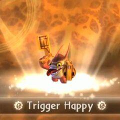 Trigger Happy entrando al portal