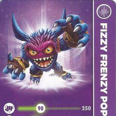 Carta de Fizzy Frenzy Pop Fizz