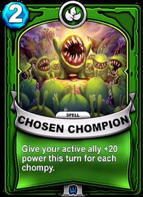Chosen Chompioncard