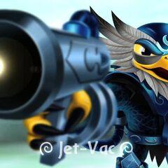 Imagen de Jet-Vac antes de entrar al juego