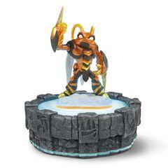 Figura de Swarm en el Portal del Poder