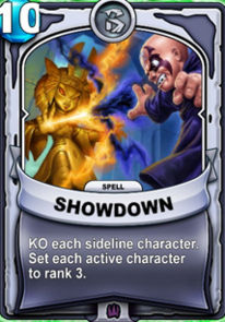 Showdowncard