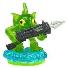 Rara figura verde de Gill Grunt