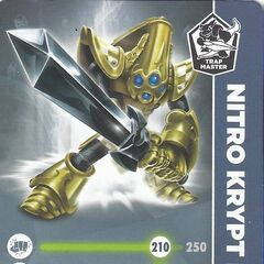 Carta de Nitro Krypt King