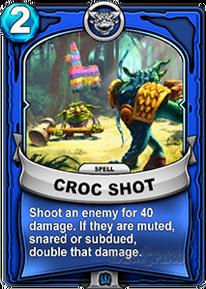 Croc Shotcard