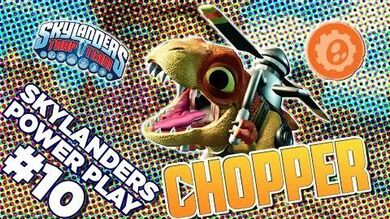 Skylanders Power Play Chopper