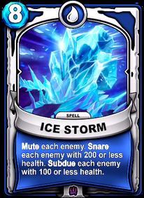Ice Stormcard