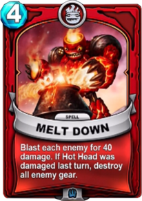 Melt Downcard
