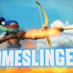 Flameslinger S2 en su trailer
