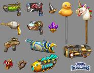 Imaginator Weapons by Min Fu