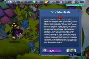 Smolderdash story