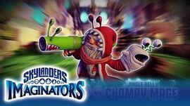 Meet Jingle Bell Chompy Mage l Skylanders Imaginators l Skylanders