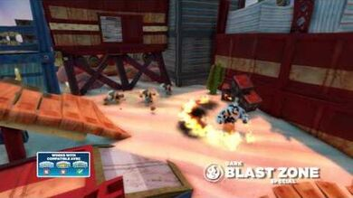 Skylanders Swap Force - Meet the Skylanders - Dark Blast Zone