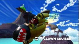 OFFICIAL Skylanders SuperChargers Action Clips Clown Cruiser-0