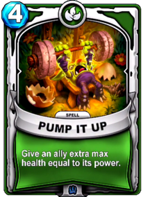 Pump It Upcard