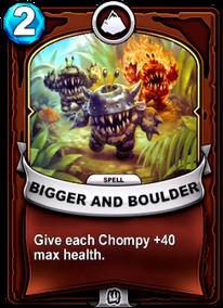 Bigger and Bouldercard