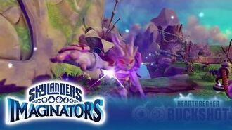 Official Skylanders Imaginators Meet Heartbreaker Buckshot